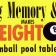 Eight ball brochure banner
