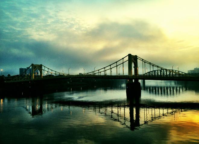 Morning Bridges 1